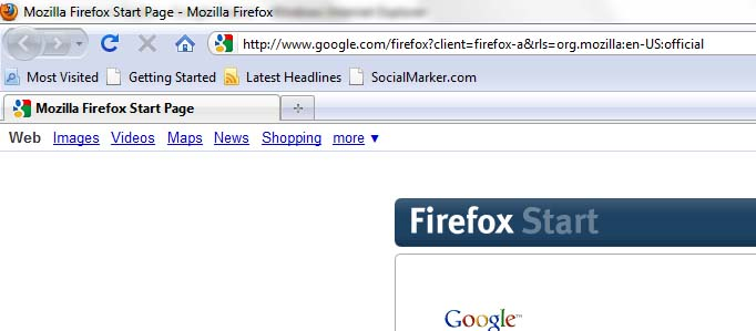No File Menu in Firefox